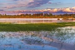 Jezioro Orawskie fot. Łukasz Sowiński